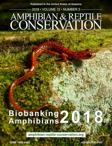 ARC Biobanking Amphibians Issue 2018